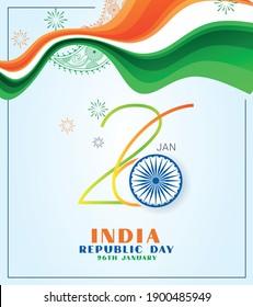 Happy Republic Day of India celebration (26 January)