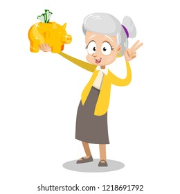 happy-retired-woman-holding-gold-260nw-1