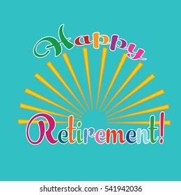 Happy retirement.