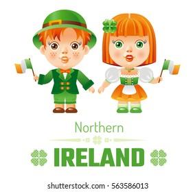 7ad1ca4ac344 Happy Saint Patrick Day Children Boy Stock Vector (Royalty Free ...