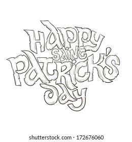 Happy saint Patrick's day signature
