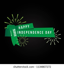 Happy Saudi Arabia Independence Day Vector Template Design