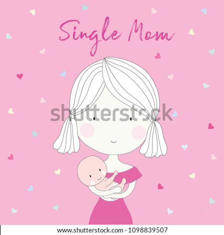 happy single moms