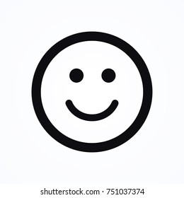 happy smile icon