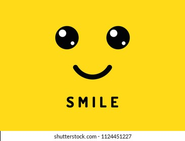 similar images stock photos vectors of smiley face yellow smile