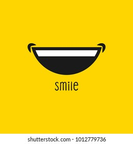 Happy smile vector