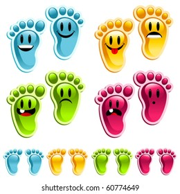 Happy smiley feet!