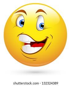 Happy Smiley Vector Illustration