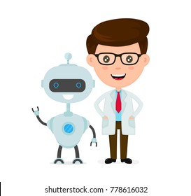 Robot Cartoon Images Stock Photos Vectors Shutterstock