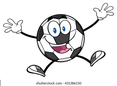Soccer Ball Cartoon Images Stock Photos Vectors Shutterstock