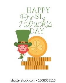 9094cc23 Vector St Patricks Day Set Stock Vector (Royalty Free) 388418200 ...