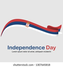 Happy Statehood Day, Independence Day Vector Template Design Illustration for card, poster, flyer, banner, ribbon, cover and background.