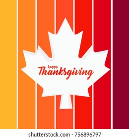 Happy Thanksgiving . vector background