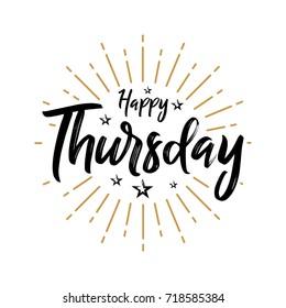 Happy Thursday Images Stock Photos Vectors Shutterstock