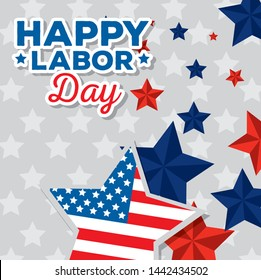 happy traditional labor day celebration