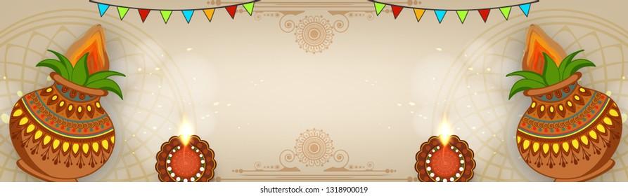Happy Ugadi festival / gudi padwa , Vector Illustration based on Ugadi Font on colorful decorative festival frame best for banner, wallpaper , header and promotions