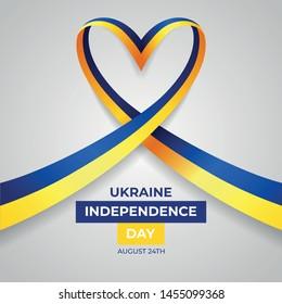 Happy Ukraine Independence Day Vector Design Template Illustration