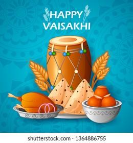 Punjabi New Year Images, Stock Photos & Vectors   Shutterstock
