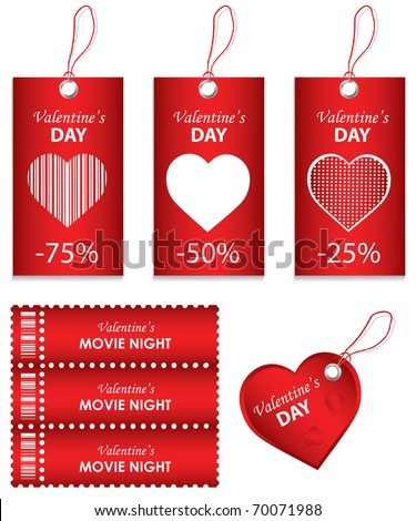Happy Valentines Day Stock Vector Royalty Free 70071988 Shutterstock