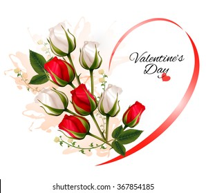 Valentine Day Flowers Images Stock Photos Vectors Shutterstock