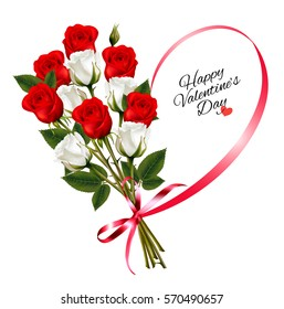 Valentine Flowers Images Stock Photos Vectors Shutterstock