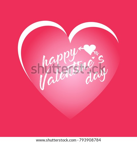 happy valentines day card good greeting stock vector royalty free