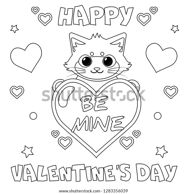40+ Valentine's Day Coloring Pages PDF Printables | 620x600
