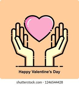 happy valentines day, icon
