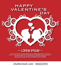 HAPPY VALENTINE'S DAY THE DAY OF LOVE