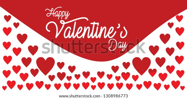 Happy Valentines Day Quotes Backgroundtemplate Vector ...