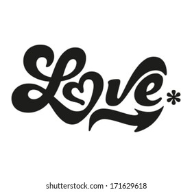 Happy Valentine's Day - Typography, love