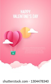 Happy Valentines Day. Vector illustration. Wallpaper. flyers, invitation, posters, brochure, banners
