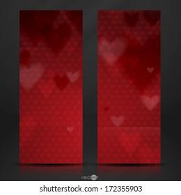 Happy Valentines Day.  Vector Illustration. Eps 10.