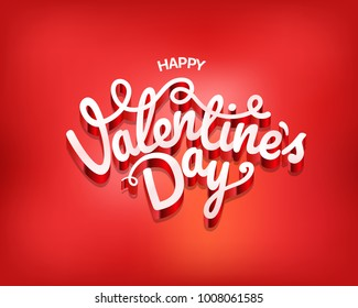Happy valentines day wishes greeting card