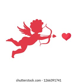 Happy valentines day,Cute Cupid