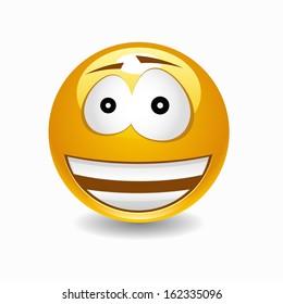 Happy vector smile