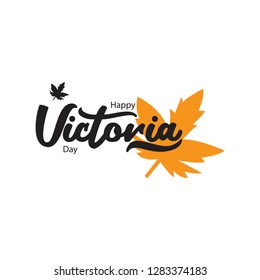 Happy Victoria Day Vector Template