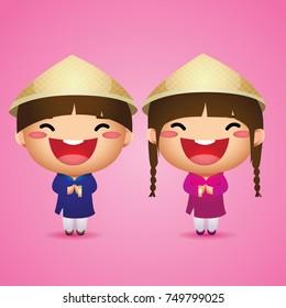 Happy Vietnamese Kid