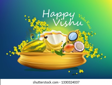 HAPPY VISHU FESTIVAL KERALA
