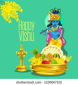 Happy Vishu, Kerala festival.