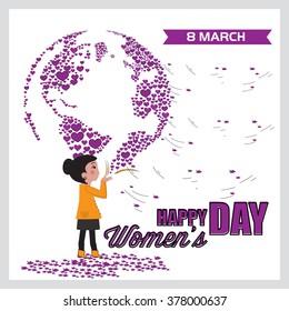Happy Women's Day set 3