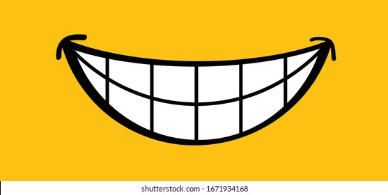 Happy world smile day, smiling National big happiness Fun thoughts emoji face emotion smiley Laughter lip symbol Smiling lips, mouth,  tongue Funny teeth Vector laugh cartoon pattern Lol laughing haha
