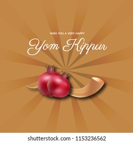 Yom kippur greeting card template design stock vector royalty free happy yom kippur greeting card poster wallpaper aand background design illustration jewish holiday m4hsunfo