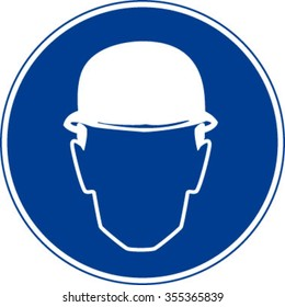Hard Hat Must Be Worn