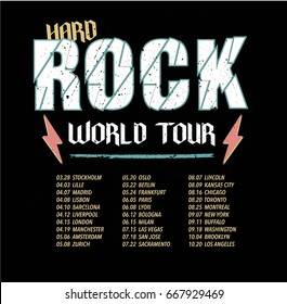 hard rock world tour