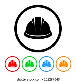 Hardhat Icon with Color Variations