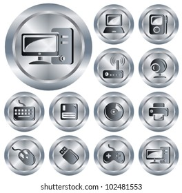 Hardware button set