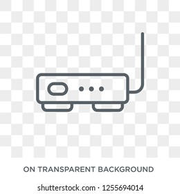 Hardware Hotspot icon. Trendy flat vector Hardware Hotspot icon on transparent background from hardware collection. High quality filled Hardware Hotspot symbol use for web and mobile