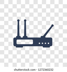 Hardware Hotspot icon. Trendy Hardware Hotspot logo concept on transparent background from hardware collection