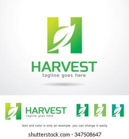 Harvest Letter H Logo Template Design Vector